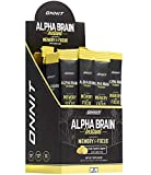 ONNIT Alpha Brain Instant - Meyer Lemon Flavor - Nootropic Brain Booster Memory Supplement - Brain Support for Focus, Energy & Clarity - Alpha GPC Choline, Cats Claw, L-Theanine, Bacopa - 30ct