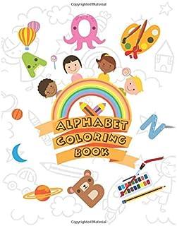 Animal Alphabet Coloring Book: for preschool