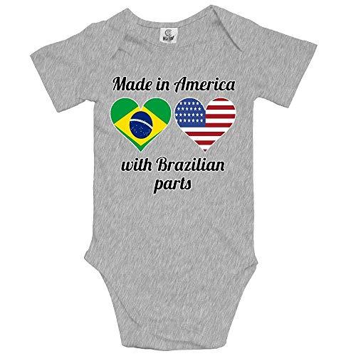 Sunny R Made in America mit Brasilianischen Teilen Newborn Baby Onesies Classic Romper Badesachen 24 M