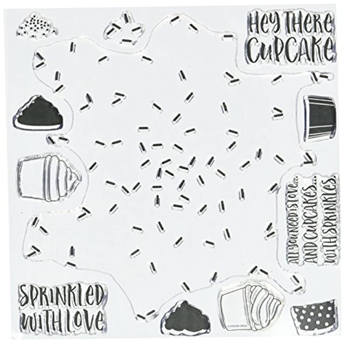 Concord & 9th Sprinkles Turnabout Clear Stamps 6