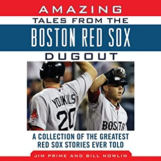 Amazing Tales from the Boston Red Sox Dugout audiobook cover art