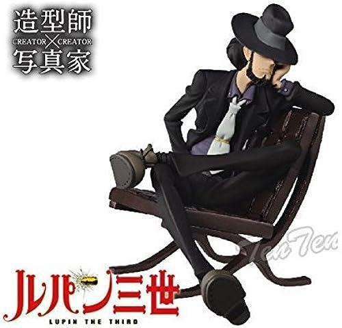 Banpresto Lupin the Third 5.5-Inch Daisuke Jigen Creator x Creator Series Figure by Banpresto