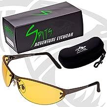 Safety Glasses Expo V Photochromic UV400 Eyewear Transitional lenses Polished Gunmetal Frame (Yellow Smoke Photochromatic)