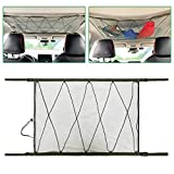 Ceiling Cargo Net Pocket, Storage Bag Car Roof Long Trip Tent Putting Quilt Children's Toy Towel Sundries Van SUV Car Interior Accessories