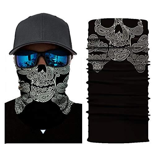 Eaylis Gesichtsmaske Bandanas für Staub/Outdoor/Festivals/Sport, Radfahren Motorrad Neck Tube Skischal Gesichtsmaske Sturmhaube Staubmaske