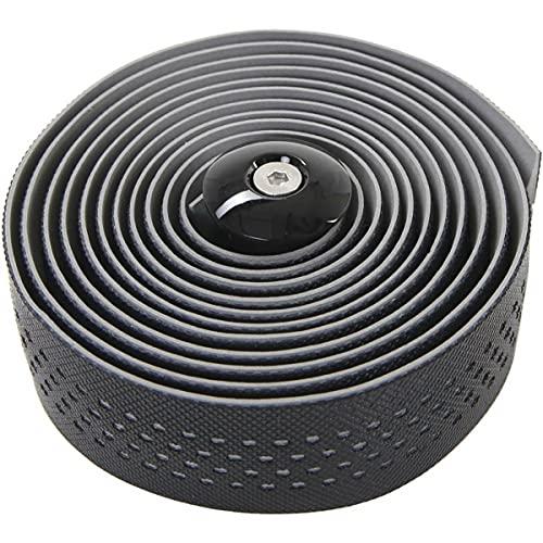CONTEC Lenkerband Goo D2 SB-verpackt, hochwertiges Dual Density D2 Lenkerband, mit Antirutsch-Oberfläche, eine spezielle PU-Beschichtung auf der Unterseite reduziert Druck und Vibrationen noch besser bei optimalem Grip, inkl. 2 Lenkerstopf