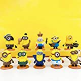 Film Characters Action Figures Pack Figure Toy Playset for Decoration Gift Collection Kids Cake Toppers Anime Figures Inner Car and Desktop Decor Prefect Choice for Birthday 10 PCS