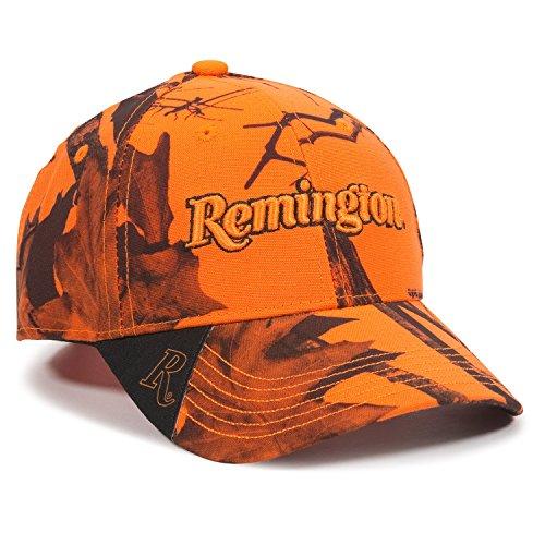 Outdoor Cap Gorra de Camuflaje Remington Blaze Unisex para Adultos, Unisex Adulto, Gorra para Exteriores con Logo Remington, RM46L-M1401, Camuflaje Blaze, Talla única
