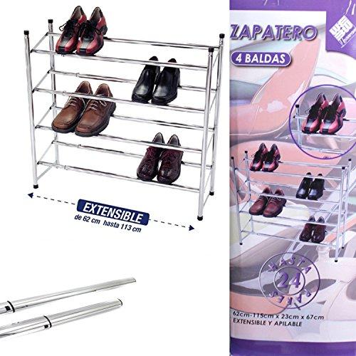 todofácil tiendas Zapatero 4 baldas
