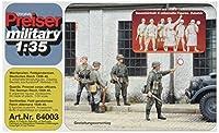 プライザー 見回りをするドイツ兵 6人(1939~45年) 未塗装キット 1/35 64003
