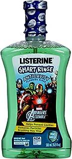 Listerine Smart Rinse, Avengers Assemble, Mint Shield 500ml (Pack of 2)