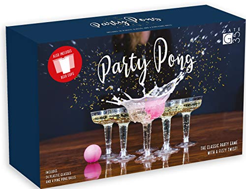 Party Pong™ Ultimate Upmarket Beer Pong Drinking