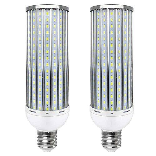 MENGS Ampoules LED E40 80W Lumière LED (équivalent ampoule incandescente de 640W) blanc freddo 6000K, AC 140-265V, 8000lm Lampe à LED - Lot de 2