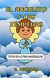 El Angelito y las Témperas: Texto en letras mayúsculas