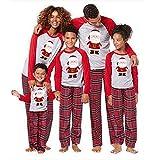Weihnachten Familie Kleidung Set Santa Claus Passende Kleidung Weihnachten Adult Kids Pyjamas Set Baby Strampler Nachtwäsche-Herren