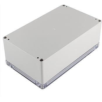 Caja de conexiones - SODIAL(R) Caja de proyecto electronico de armario impermeable de plastico 200x120x75mm: Amazon.es: Bricolaje y herramientas