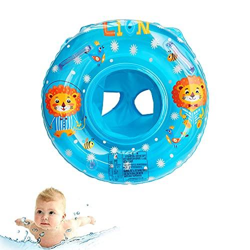 Baby Schwimmring, Baby Schwimmen Ring, Baby Schwimmhilfe, Baby Schwimmhilfen mit Schwimmsitz PVC für Kleinkind 6 Monate bis 48 Monate (H)