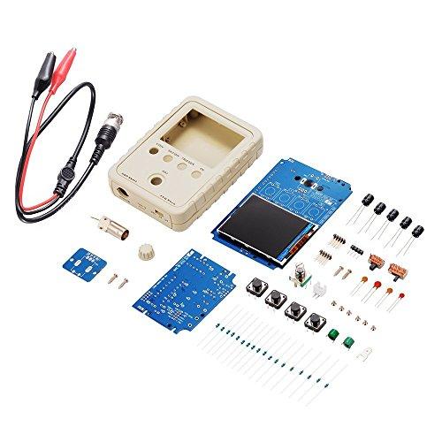 """DollaTek DSO150 Digital Osciloscopio de Shell 2.4""""TFT 1Msps DIY Kit de la sonda de la Cubierta Kit electrónico del Entrenamiento DIY"""