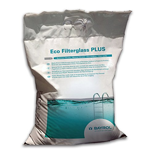 25 Kg Eco Glas Filter Medium Grad 2-1,0-3,0mm Körnung