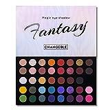 40 Colors High Pigmented Shimmer Matte Eyeshadow Makeup Palette Full Spectrum Artist Glitt...