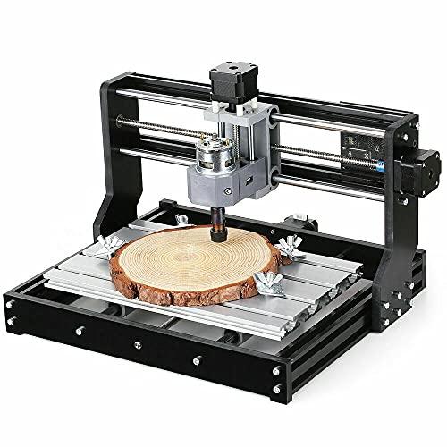 Máquina de grabado láser 3D 2 en 1 con broca ER11 GRBL, control para bricolaje, de escritorio, mini láser, 300 x 180 x 45 mm, para grabado láser amateur