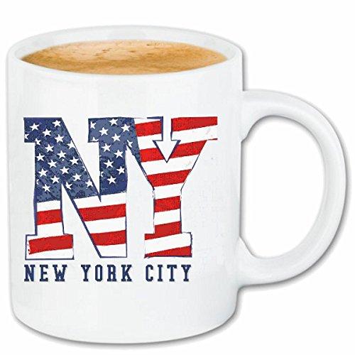 taza para café NEW YORK NEW YORK América California EE.UU. RUTA 66 CAMISA motorista de la motocicleta de NEW YORK NY LIBERTAD DE LOS ESTADOS UNIDOS DE BRONX BROOKLYN LOS ÁNGELES MANHATTAN Caso duro d