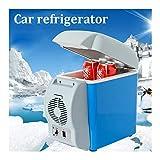 G-Jbx Auto Gefrierschrank 12V 7.5L Kapazitäts-beweglicher Auto-Kühlraum Kühler Wärmer LKW Thermo Elektrischer Kühlschrank