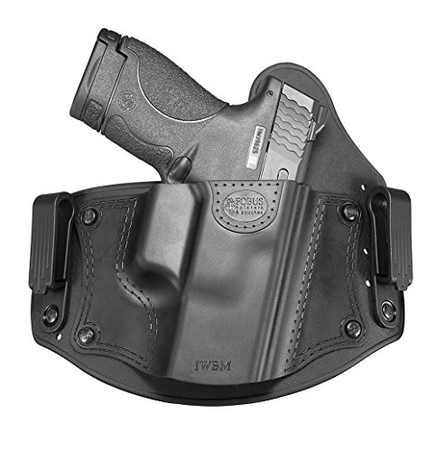 Fobus IWBM CC (combat cut) Right Hand IWB Inside the Waistband Passive Retention Holster for Glock 17,19,26,27,28,33 / Beretta PX4 Compact / Sig Sauer P320, P228 / Walther PPQ, P99 / Smith & Wesson M&P Shield, M&P Compact / FN - FNS, FNX / Ruger SR9, SR40, SR45, LC9 / Springfield XD Sub-Compact / Taurus 709 Slim, PT111 G2 pistols