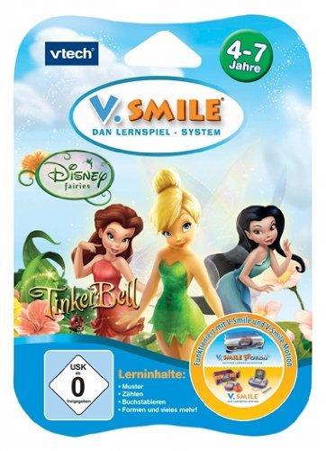 Vtech 80-084324 - V.Smile Motion Lernspiel Tinker Bell