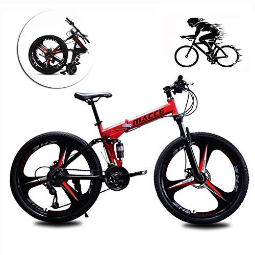 SXXYTCWL 26-Zoll-faltendes Mountainbike...