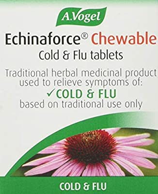 A.Vogel Echinaforce Junior Cold & Flu 40 Chewable Tablets from a. Vogel
