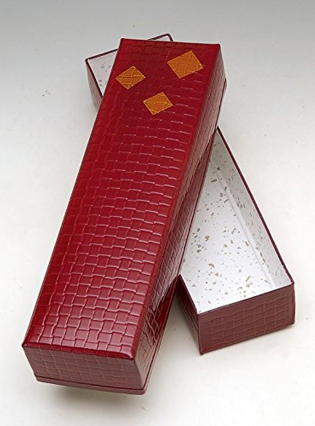 モザイク発表する対抗茶道具商 左座園 茶道具 収納箱 塗文庫 短冊用
