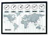 Seiko 24' Classic Six City World Time Wall Clock