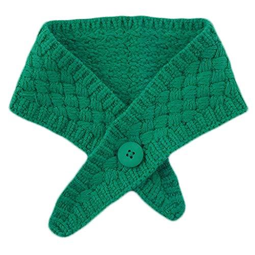 VVXXMO Bufanda de punto para mujer, diseño de cruz falsa, color caramelo, chal de ganchillo decorativo, accesorios de ropa desmontables.