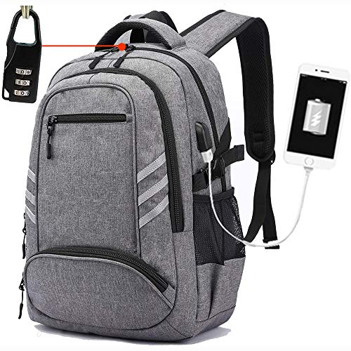 College Laptop Backpack, Casual Campus School Bookbag Travel Computer Rucksack