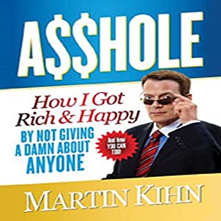 Asshole audiobook cover art
