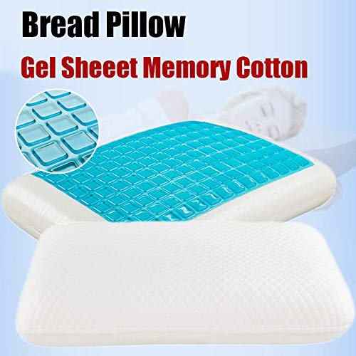 2ci Yanz Contour Pillow Soft Cervical Pillow – Memory Foam Orthopedic Pillow – Premium Neck Support Pillow with Bamboo Cover – Best Cervical Neck Pillow for Side & Back Sleeper