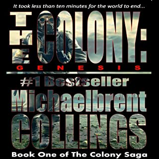 The Colony: Genesis audiobook cover art
