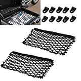 GIAOGIAO Packung Taschen Cargo Mesh Net Fit für BMW F650GS F700GS F750GS F800GS R850GS R1200GS R1250GS Aufbewahrungstaschen Netz Vario Fall Netto Koffer (Color : 2 Nets)