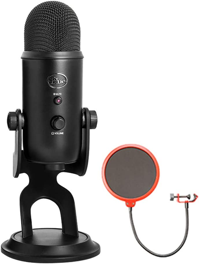 Blue Microphones USB Microphone Four YETIBLACKOUT with Pattern Fashionable Dallas Mall
