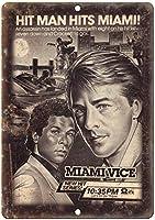 Miami Vice Don Johnson TV ティンサイン ポスター ン サイン プレート ブリキ看板 ホーム バーために