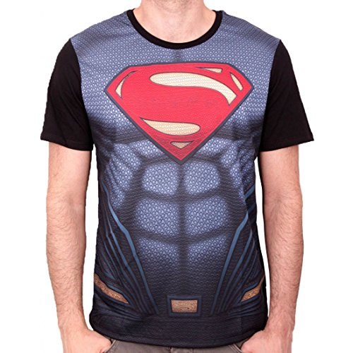 Tshirt Superman DC Comics BVS - Superman Costume