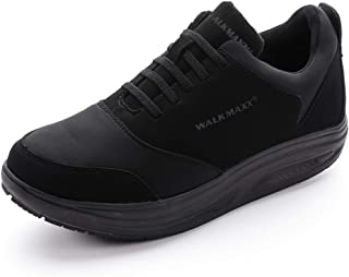 Walkmaxx Blackfit The Wide, Supportive Exercise Shoe