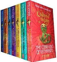 Children of the Lamp Collection P B Kerr 7 Books set. (the cobra king of Kathmandu, the dry of the Djinn Warriors, the eye...