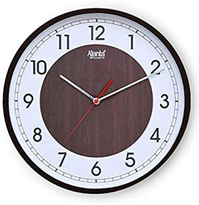 Ajanta Real Silent Sweep Movement Designer Wall Clock for Home and Office (12 Inch)((02)
