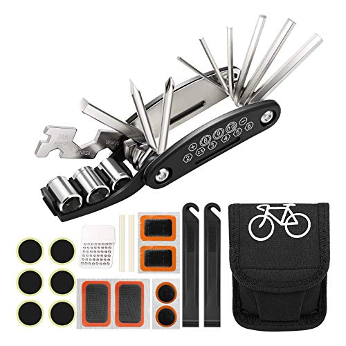 Homealexa Kit Reparación Herramientas Bicicleta