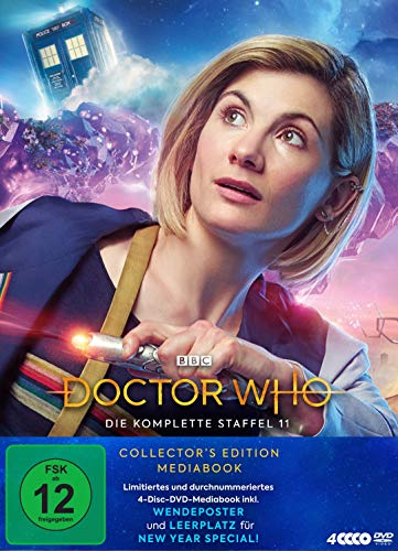 Doctor Who - Staffel 11 (Limited Mediabook Edition) (4 DVDs)