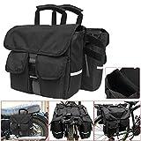 Essming 1 Satz Motorrad-Side Saddle Bag Pannier Paket Gepäcktasche Wasserdicht Schwarz Abnehmbare...