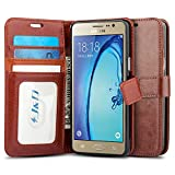 J&D Case Compatible for Galaxy On5 2015 Case, Wallet Stand