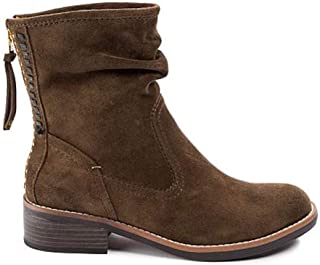 Lucca Lane Womens Carolsue Suede Slouchy Booties